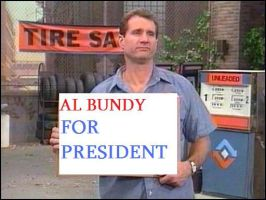 Al Bundy for President by Rockerwithasecret