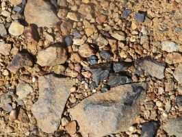 Gravel texture 4 by Lyssi