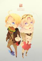 Hetalia North America by kanonyui