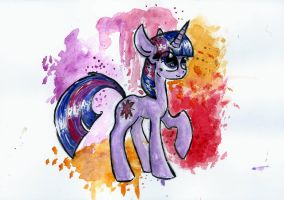 Twilight Sparkle by smartMeggie