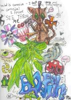 Tripped Out Stoner Art 2006 by Club-Marijuana