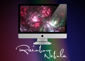 Rainbow Nebula by SierraDesign