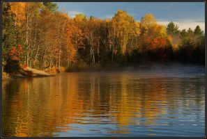 Fall at Oxtongue Rapids by IgorLaptev