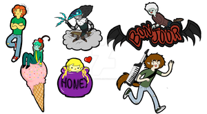 Sticker Set by MissPomp