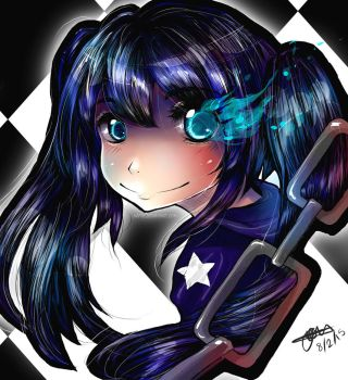 Black Rock Shooter by naftie