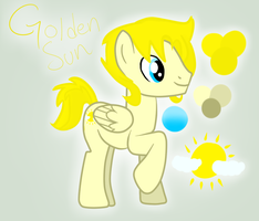 Golden Sun by Saprana