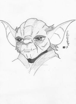 Yoda by BenPirrieArt