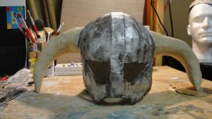 Skyrim: Iron Helmet, release your inner Dovah! by Lootra