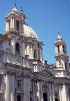 Sant'Agnese in Agone by cloe-patra
