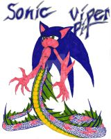 Viperpit: Sonic by XenomorphicDragon