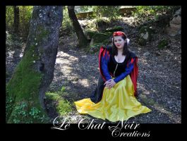 Snow White_III by LeChatNoirCreations