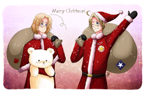 APH- Merry Christmas! by Flashie666