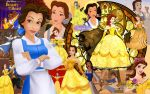 the Bookworm Princess Collage by Akili-Amethyst