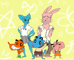 The Crayon World of Gumball Chan by aftertaster7