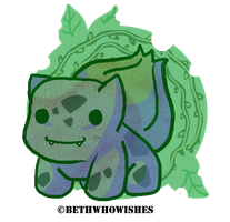 Bulba, Bulba Bulbasaur by bethwhowishes