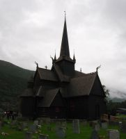 Stave Church, Norway by francis1ari