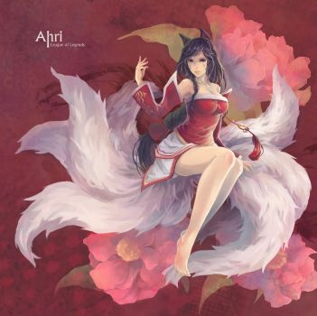 Ahri by yupi5678999