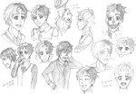 [Ghost of Me] - The Many Faces of Millow John by Lupizora