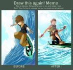 Draw This Again! meme by kevzter
