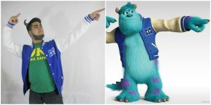 James P. Sullivan (Sulley) Cosplay Comparison by Itzxjasonparsonz