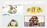 131026. PACK-PSD-WALLPAPER by FishFamily