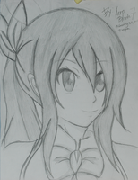 Lucy Hearthfilla - Fairy Tail(Drawing) by aeroblade7