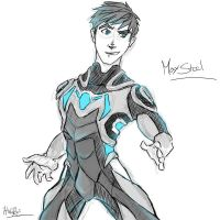 Max Steel | practice by hielorei