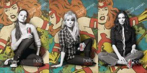 All three Diet Coke posters by LiamSharp