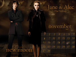 Jane and Alec nov calendar by nathaliagucowski
