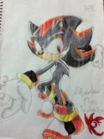 ::Tradicional_shadow the hedgehog:: by naomithecat1