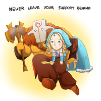 Never leave! by keterok