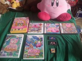 kirby game collection by bigbob101