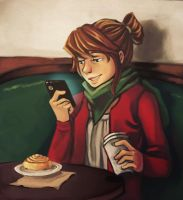 Coffee Time by K-mila