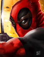 Deadpool by TheRisingSoul