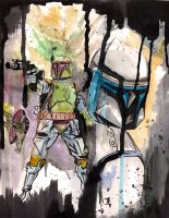 Boba and Jango by Blvdnit3