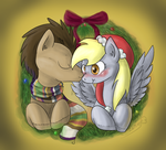 Have a Derpy Little Christmas by ScarletAddendum
