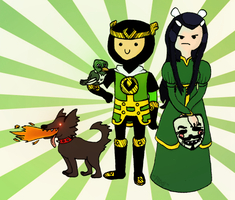 Journey into Mystery with Loki and Leah by Trollki