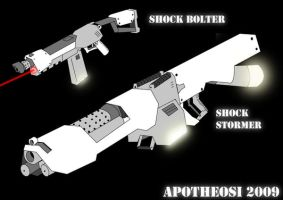 shock bolter series by Apotheosi