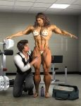 Married to Muscle_Pump-room Antics by rainbowscriber