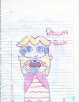 Princess Peach by CatsvsDogs123