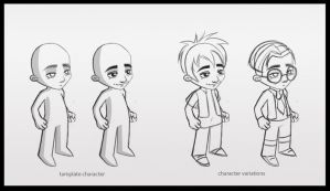 Kids characters by windmile