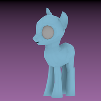 Pony basemesh (old as poop) by ryolo132