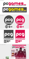 PC Games - Corporate Design CONCEPT by Crussong