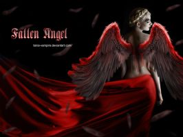 Fallen Angel by TaniaART