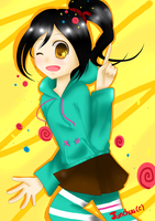 AT: Vanellope by Junchuu