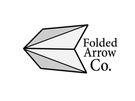 Folded Arrow Logo by touchRED