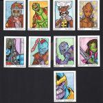 Sketch Cards: Guardians of the Galaxy by badgerlordstudios