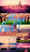 Mega PACK de 8 Landscapes by TouchBiitch