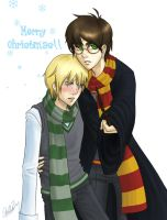 Secret Santa- Drarry by Fallen-Sorrow