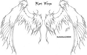 Tat - Kami Wings by KashieChan